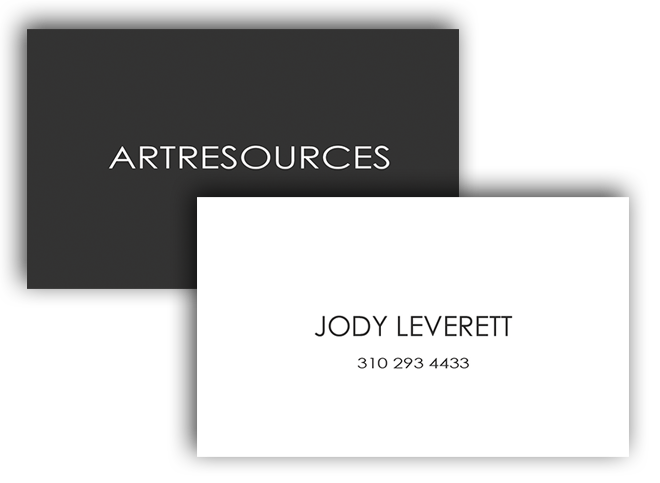 Art Resources Business Card