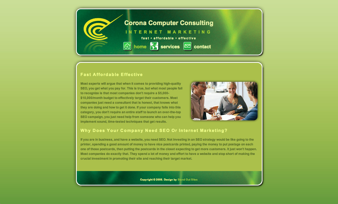 CoronaComputerConsulting.com