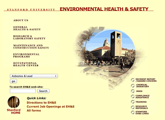 Stanford University EH&S